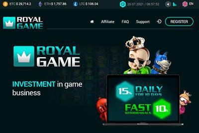 Royal Game - royalga.me 9000