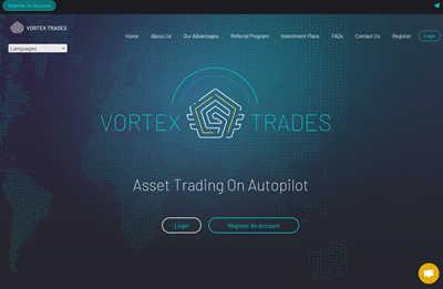 Vortex Trades screenshot